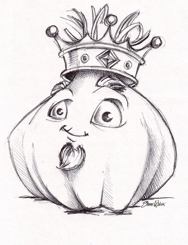 Garlic King logo