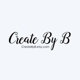 Create By B  logo
